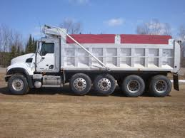 100 5 Axle Dump Truck USED 200 MACK GRANITE CV713 FOR SALE 2001