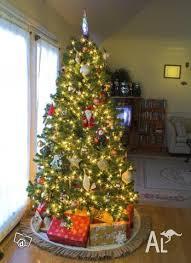 XMAS18m 180cm 6ft FIBRE OPTIC CHRISTMAS TREE