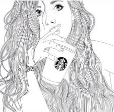 Drawn Starbucks Wallpaper 2