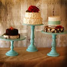 Fab Finds Pretty Rustic Wedding Cake Stands