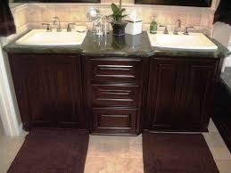 Double Sink Vanity With Dressing Table by Nice Bathroom Vanities With Tops Homeoofficee Com