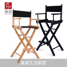 USD 50.02] Solid Wood Director Chair Folding Canvas Chair Bar Chair ... Folding Wooden Deckchair Or Beach Chair With Striped Red And Stock Ameerah Beauty Professional Foldable Makeup Chair Glam Beauty Jay Grey Acacia And Ivory Canvas Panama Maisons Du Monde Heavy Duty Portable Easy Buy Shop Bamboo Relax Sling Blue Stripe Free Directors Tall Wood With Canvas Seat And Back Magic 14 L X 13 W 17 H Teak Camp Stool Seat Metal Tall Directors Alinumblack Hire Style All Things Cedar Cushion Modish Store Ldon By Gnter Sulz For Behr 1970s Sale