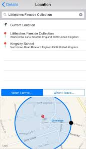 How to set up iPhone location based reminders Syncios Manager