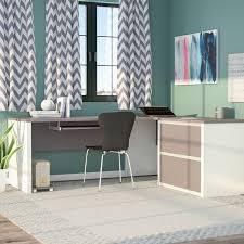 Bush Cabot L Shaped Desk Office Suite by Latitude Run Karla L Shape Desk Office Suite U0026 Reviews Wayfair