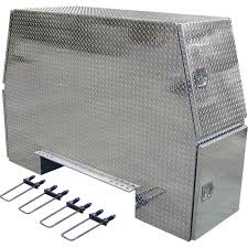 100 Truck Chest Tool Box Buyers Products Aluminum HeavyDuty Backpack Diamond