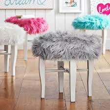 Vanity Chair You Can Looking Ottoman Stool Small White