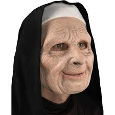 The Purge Masks For Halloween by Amazon Com The Town Nun Mask Clothing