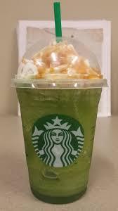 Starbucks Secret Menu Sour Apple Caramel Frappuccino Niner Times