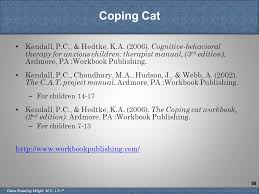 coping cat providing social emotional and behavioral services on a budget