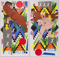 Neo Spacian Deck 2017 by Animal Farm Group Exhibition The Brant Foundation