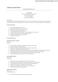 Example Of College Resume For Application Examples Templates Free Best