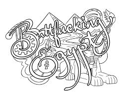 228 Best Swear Word Coloring Images On Pinterest