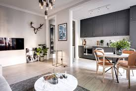 100 Small One Bedroom Apartments LuxuriousContemporaryApartmentSweden_1