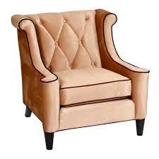 Armen Living Barrister Sofa by Velvet Arm Chair 28 Images Velvet Arm Chair 7053932 Hsn
