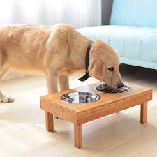 Pet Supplies Lepet Raised Dog Bowls Elevated Pet Feeder With 4