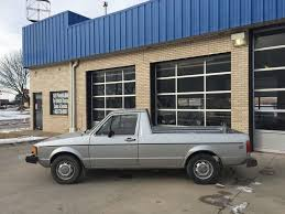 1981 Volkswagen Rabbit LX Truck 1.6 NA Diesel 4 Speed 90k One Owner ...