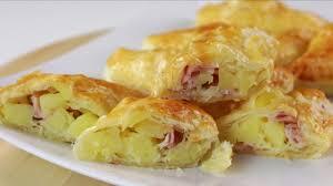 cuisine recette des chaussons aux pommes de terre idee repas idée