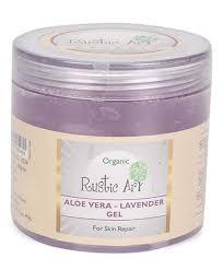 Rustic Art Organic Aloe Vera Lavender Gel