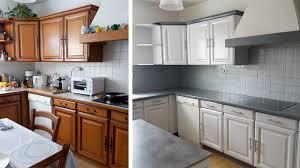 repeindre des meubles de cuisine en bois repeindre meuble cuisine idées de design maison faciles