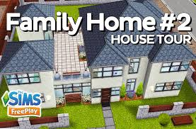 Sims Freeplay Second Floor by The Sims Freeplay Family Home Original Design Youtube