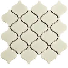 Home Depot Merola Hex Tile by Merola Tile Metro Lantern Crackle White 9 3 4 In X 10 1 4 In X 6
