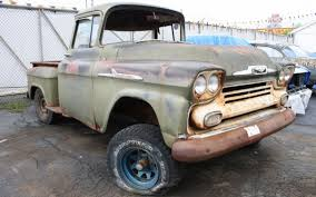 100 1958 Chevy Truck StepSide BigWindow Pickup