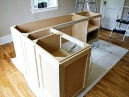 desk diy l shaped desk with file cabinets plans to build an l