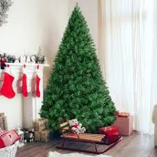 6ft Hinged Artificial Christmas Pine Tree W Metal Stand
