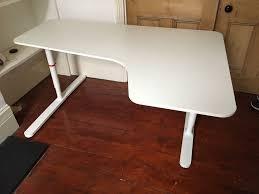 ikea bekant corner desk white 77 ono in islington london