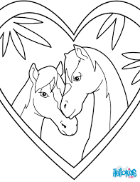 Snails Love Horse Coloring Page