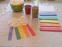 Rainbow Craft From An Impressive Toddler Party