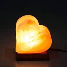 Himalayan Salt Lamp Pyramid by Crafted Himalayan Salt Lamps Premium Quality Romantic Heart