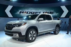 All-New Honda Ridgeline Brought Its Conservative Design To Detroit ... 2019 New Honda Ridgeline Rtle Awd At Fayetteville Autopark Iid Mall Of Georgia Serving Crew Cab Pickup In Bossier City Ogden 3h19136 Erie Ha4447 Truck Portland H1819016 Ron The Best Tailgating Truck Is Coming 2017 Highlands Ranch Rtlt Triangle 65 Rio Ha4977 4d Yakima 15316