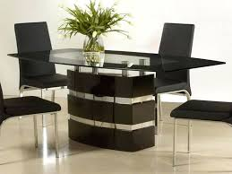 Small Contemporary Dining Table Modern Room Sets For Spaces And