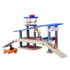 amazon com plan toys city series parking garage toys u0026 games