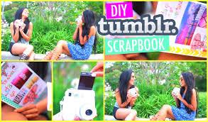DIY Tumblr Scrapbook For Travel Memories