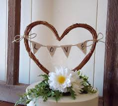 Collection Of Solutions Rustic Wedding Cake Toppers For Your Topper Heart With
