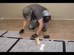 heating a tile floor diy heating tile floors heated floor