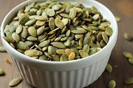 Unsalted Pumpkin Seeds Recipe by Delicious As It Looks November 2012