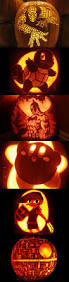Totoro Pumpkin Carving Ideas by Arcanine Jack O U0027 Lantern By Johwee Pokemon Pinterest Pokemon