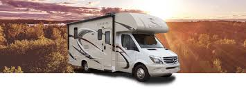 Small Class C Chateau Sprinter Motorhomes
