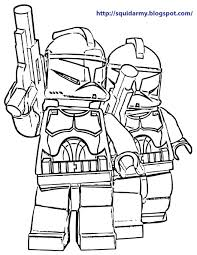 Lego Star War Coloring Pages 2