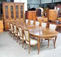 12 Piece Solid Cherry Dining Room Set By John Widdicomb Furn Co