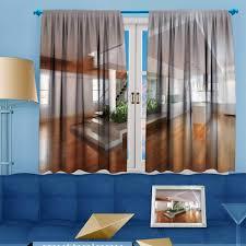 100 Residence Curtains Amazoncom Darkening Grommet Unlined Window Empty Room Of