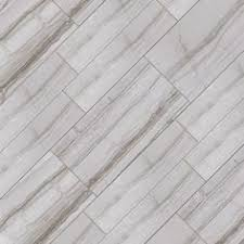 Home Depot Floor Tile by Marazzi Vitaelegante Grigio 6 In X 24 In Porcelain Floor And