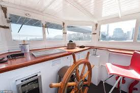 Boat Captains Chair Uk by German Built Ferry On Sale For 695k As A Houseboat On River