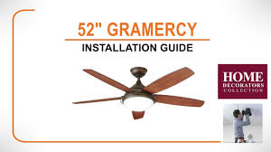 Hunter Contempo 52 Ceiling Fan Manual by 52