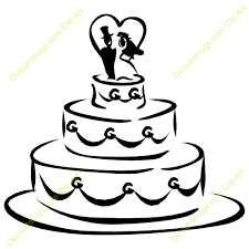 Cake clipart wedding cake 3