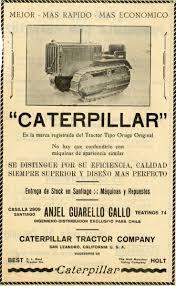 100 Caterpillar Chile Archive