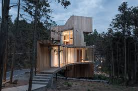 100 Tree House Studio Wood An 11metretall Tree House Surrounded By A Sea Of Red Cedars